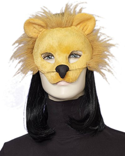 Lion Nose - Forum Novelties Men's Plush Lion Mask, One Size