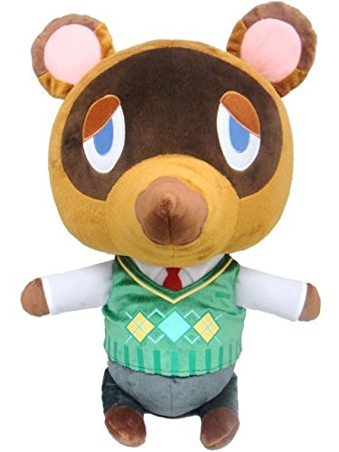 "Little Buddy USA Animal Crossing New Leaf Giant X-Large Tom Nook 18"" Plush"