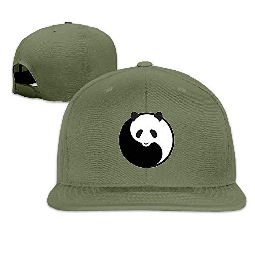 Panda Cute Sized Flat Baseball Caps for Women Personalized Great for Outdoor Running Sunmmer (Tuner Flat Panel)