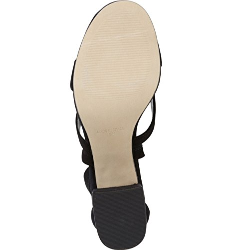 Steve Madden Isabel Womens Sandali Con Cinturino In Pelle Scamosciata Neri Us8