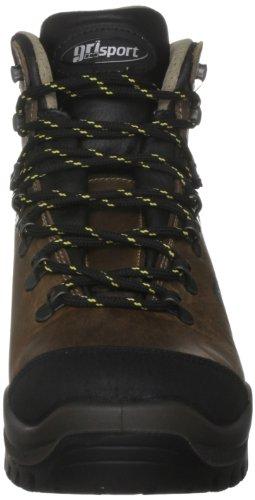 Grisport Ridge - Zapatillas de senderismo de cuero unisex Marrón