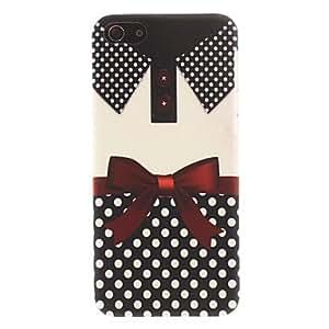 conseguir Collar y patrón del Bowknot Smooth duro caso para iPhone 5C