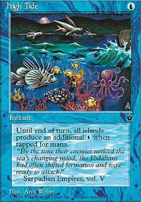 (Magic: the Gathering - High Tide (Coral) - Fallen Empires)