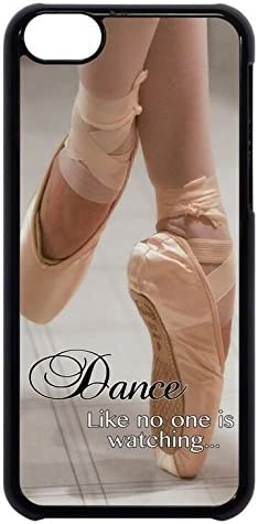 Amazon Com Ballet Ballerina Dancer Shoes Quote Rubber Silicon Black Case Cover For Iphone 5 5s By Cases4u Tm