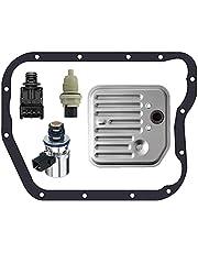 Koomaha Transmission Governor Pressure Transducer Sensor Solenoid EPC Kit + Filter Gasket Kit + Speed Sensor Replacement for Dodge Jeep 42RE 44RE 46RE 47RE
