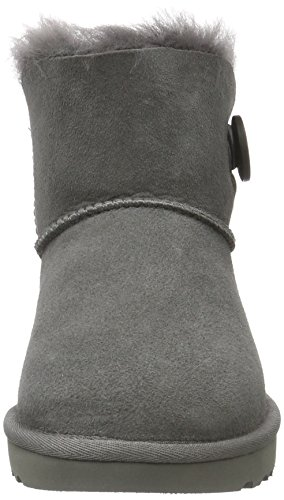 Mujer Altas Australia Gris Bailey Para Mini Ugg Zapatillas Button grigio vfw0nH4q