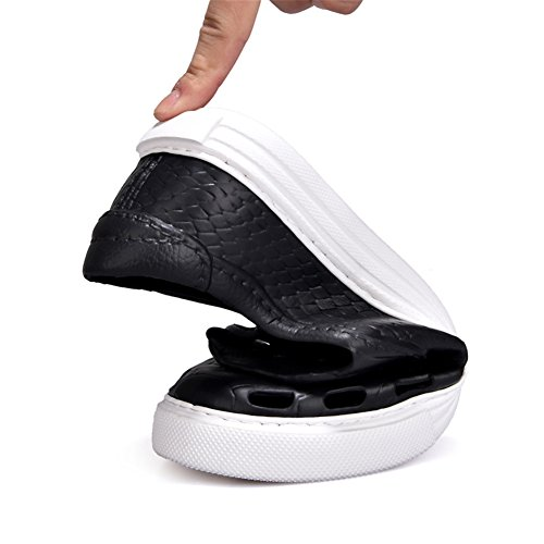 Fires Mens Casual Hollow Out Flat Shoes Light Weight Breathable Summer Sandals Black hkHrk0r