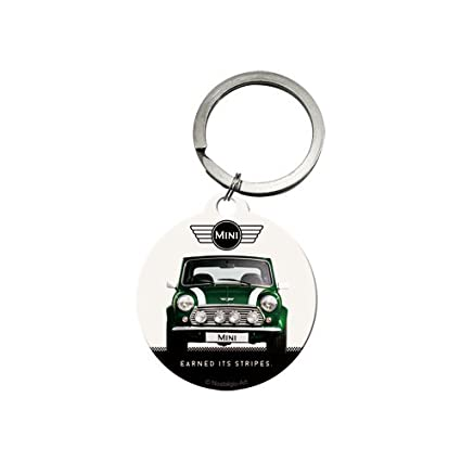 Amazon.com: Nostalgic-Art 48019 Key Chain Round Mini 4 cm ...