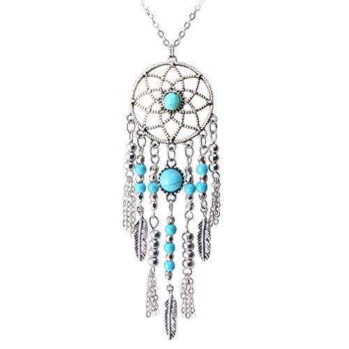 Jane Stone Fashion Necklace Turquoise