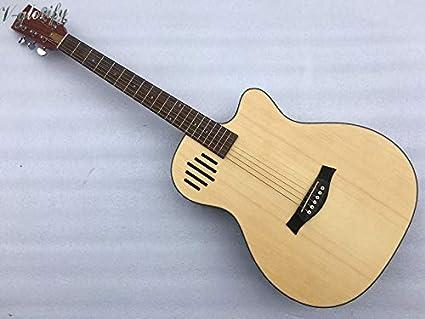 Guitarra eléctrica acústica, 40 pulgadas, 6 cuerdas verticales ...