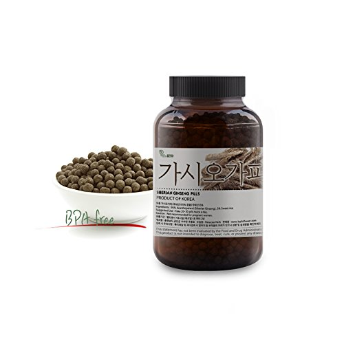 - [Korean Herbal Pills] Natural Siberian Ginseng (Acanthopanax) Pills / 가시오가피 환 5oz (142g)