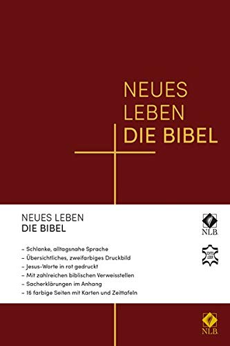 Neues Leben. Die Bibel, Standardausgabe, Leder, Goldschnitt