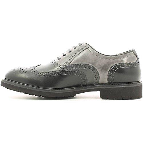 Nero Giardini , Chaussures de ville à lacets pour homme noir NERO/ANTRACITE/FUMO