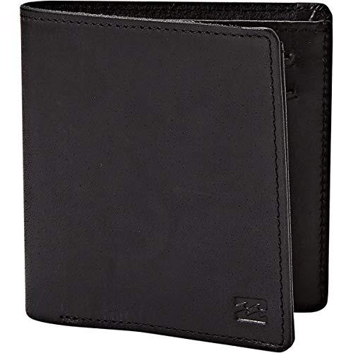 (Billabong Men's Gaviotas Leather Wallet, black ONE)