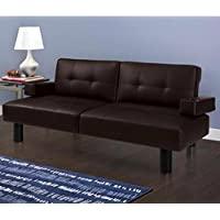 Mainstays Connectrix Futon, Brown