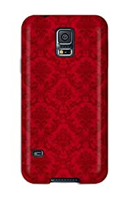 Yasmeen Afnan Shalhoub's Shop Slim Fit Tpu Protector Shock Absorbent Bumper Red Case For Galaxy S5