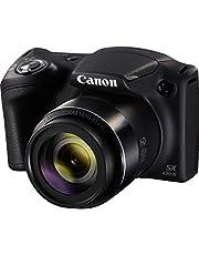 كاميرا دي اس ال ار صغيرة باور شوت من كانون طراز SX430 IS، لون اسود