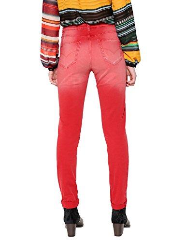 Pantalon borgoña 3007 angelinass Rouge Pant Femme Desigual gqUET