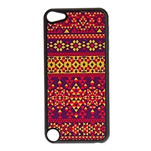 Nsaneoo - Shimmering Colorful Diamonds Pattern Hard Case for iPod touch 5