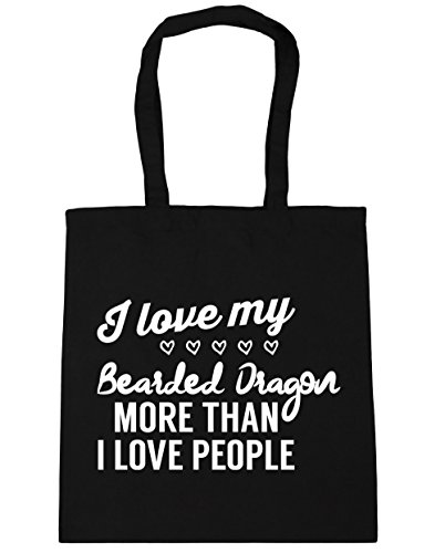 bearded Black my Gym Bag 42cm 10 HippoWarehouse I Tote love litres x38cm people I than Shopping Beach dragon more love 1ExEnt7wHq