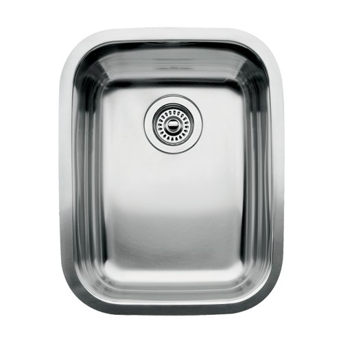 (Blanco 510-879 Supreme 3/4 Single Bowl Kitchen Sink, Satin Polished Finish)