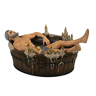 Dark Horse Deluxe The Witcher III: The Wild Hunt: Geralt in Bath Polyresin Statuette: Toys & Games
