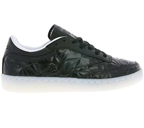 Reebok Club C 85 Hype Metallic Donna Sneaker Nero