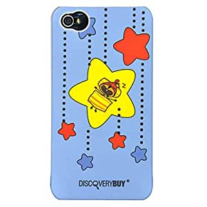 PEACH- Bunny in Imagination World Pattern PC Hard Case for iPhone 4/4S