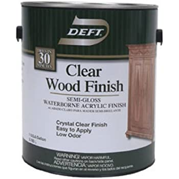 Deft Interior Clear Wood Finish Satin Brushing Lacquer