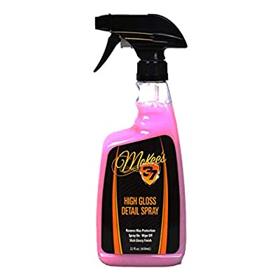 McKee's 37 MK37-470 High Detail Spray (Final Touch for a Showroom Gloss Simply Spray & Wipe), 22. Fluid_Ounces: Automotive