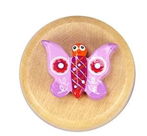 Cajita pequeña para guardar los dientes de leche modelo mariposa