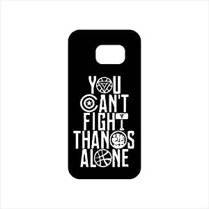 Fmstyles - Samsung S7 Mobile Case - YOU CAN'T FIGHT THANOS ALONE