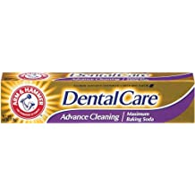 Arm & Hammer Dental Care Fluoride Toothpaste, Advance Cleaning, Maximum Strength, Fresh Mint 6.3 oz (178 g) (Pack of 6)