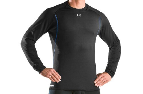 fc81a2c2 Men's ColdGear® UA Base™ 2.0 Longsleeve Crew Tops by Under Armour Large  Black (B000WAV1WO)   Amazon price tracker / tracking, Amazon price history  charts, ...