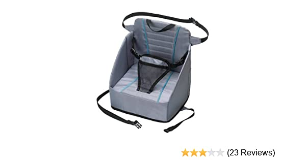 Eddie Bauer Pop Up Booster Seat High Chair Travel Holds Up To 30lbs Baby Gear