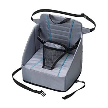 Eddie Bauer Pop Up Booster Seat High Chair Travel Holds Up To 30lbs Other Baby Gear