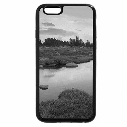 iPhone 6S Plus Case, iPhone 6 Plus Case (Black & White) - Hellroaring Plateau