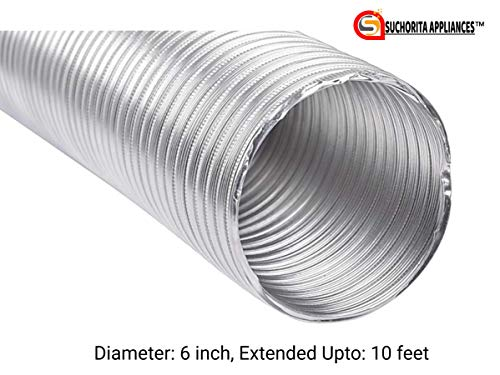 6-Aluminium-Flexible-Exhaust-Pipe-for-Chimney-Extended-Upto-10-feet