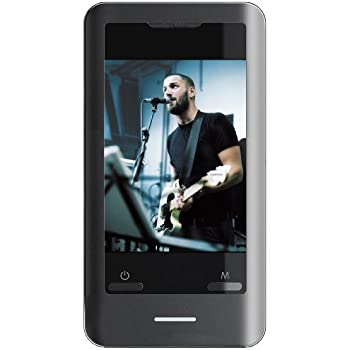 Coby MP827-8G 8 GB 2.8-Inch Video MP3 Player with Touchscreen, FM, Integrated Stereo Speakers and MiniSD Card Slot (Black) (Discontinued by manufacturer)