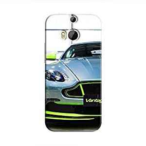 Cover It Up - AM Vantage GT8 Green One M8 Hard Case