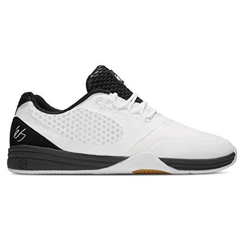 eS Men Sesla Weiß Schwarz Schuhe Größe Weiß schwarz