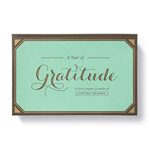 A Year of Gratitude Kit by Compendium: A Kit to Inspire 52 Weeks of Giving Thanks
