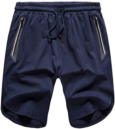 ジムハーフパンツ メンズ 半ズボン ランニング ファスナーポケット スウェットショートパンツ 半パンツ フィットネスパンツ トレーニング