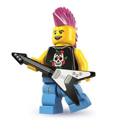LEGO Series 4 Collectible Minifigure Punk Rocker