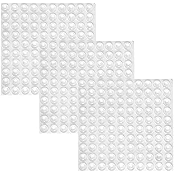 Mayam 300 Pieces Clear Rubber Feet Adhesive Door Bumpers Pads Sound