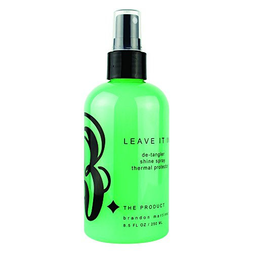 Anti-Frizz Detangler, Leave-In Conditioner For Dry And Damaged Hair, Leave-In Detangler, Thermal Spray With Incredible Shine-B. The Product Leave It In - B Product The