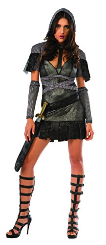 Rubie's Costume Co Women's Medieval Knight Costume, Gray,...