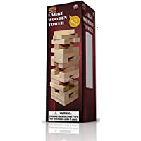Large Wood Tower Game 48 pieces
