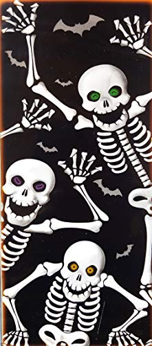 Skeleton Door Cover - Halloween Wall