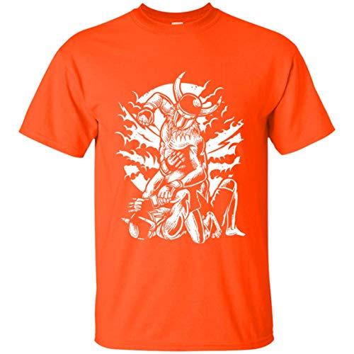 KID ANGELES Happy Halloween Viking MMA Fighter T-Shirt | for Men Women -